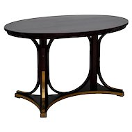 Table Otto Wagner attr. Thonet model 8051 ca. 1904