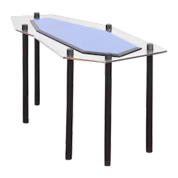 "Mauro Fabbro  ""Laguna Blu"" Coffee Table"