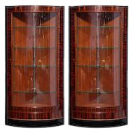 Pair of Art Deco Vitrines