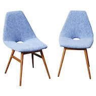 Pair of chairs by Judit Burian