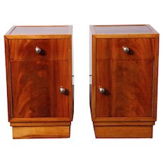 Pair of  Art-Deco nightstands