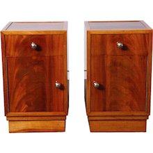 Pair of  Art-Deco nightstands