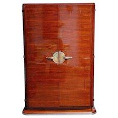 Rosewood Art-deco wardrobe