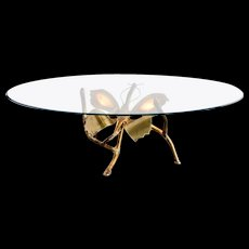 Jacques Duval Brasseur Butterfly coffee table