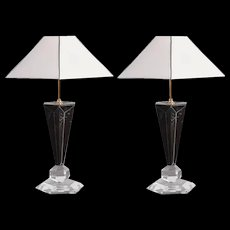Pair of 1970s Table Lamps
