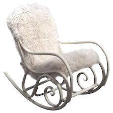 Rocking Chair N°1 by Thonet