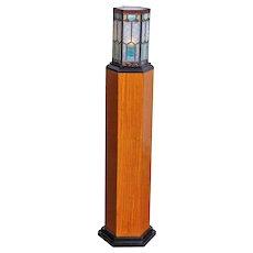 Art Deco Pedestal Lamp