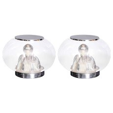 Pair of Italian Origin Table Lamps