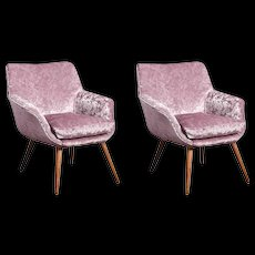Pair of 1960s Cocktail Chairs