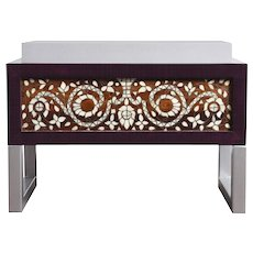 'The Traveller' Side Table or Ottoman