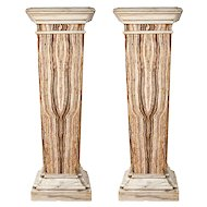 Pair of 19th Century Marble Bases