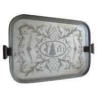 Tray by Ercole Barovier 1930s