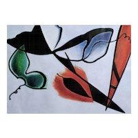 Taeko Mima - Plancton - oil on canvas (1990)