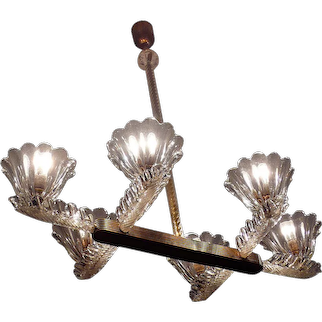 Liberty Chandelier by Ercole Barovier, 1930