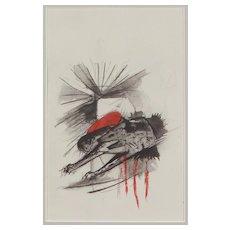 """ Wolf"" by Franz Marc"