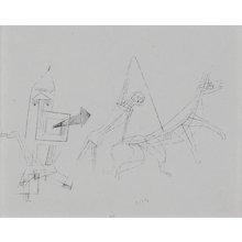 """""""Stilistisch"""", Helio Etching by Paul Klee"""