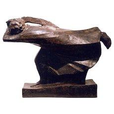 """Bronze """"Der Raecher"""" ( The Avenger ) by Ernst Barlach"""