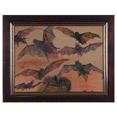 """Fledermäuse"" ( The Bats ) by Franz Xaver Unterseher"