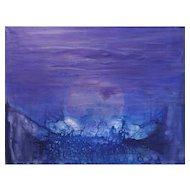 """Cosmic Moonrise"" by Udo Haderlein"