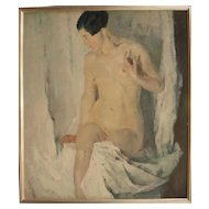 "Constantin Gerhardinger ""Female Nude"", 1925"
