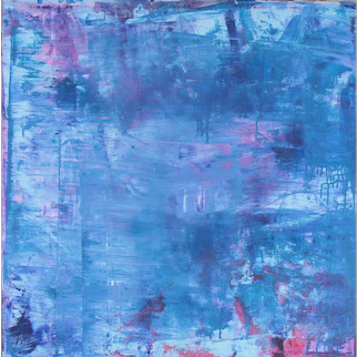 Untitled, Acrylic on Canvas by Claudia Fauth