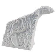 "Ludwig Gies ""Mondschaf"" (""Moon Sheep""), Glazed Porcelain Figurine"