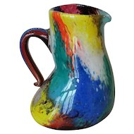 "Glass Pitcher ""Oriente"""