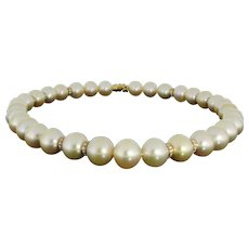 South Sea Pearl Collier with Diamonds