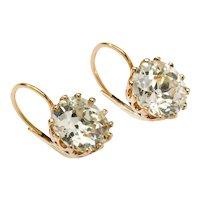 An Important Pair of Diamond Stud Earrings