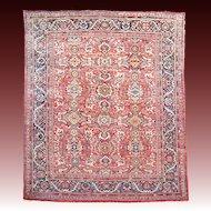 Antique Sultanabad - Ziegler Mahal Carpet