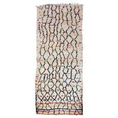 Vintage Moroccan North African Berber Rug