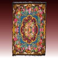 Antique Bessarabian Kilim Carpet
