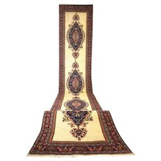Vintage Turkish Long Runner Rug