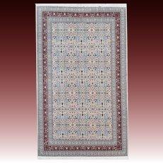 Vintage Oversize Turkish Hereke Carpet
