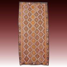 Beautiful Vintage Large Size Kilim