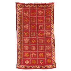 Moroccan Vintage North African Berber Rug