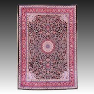 Amoghli Signed Mashad Persian Carpet