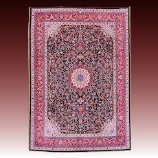 Amoghli Signed Mashad Persian Carpet