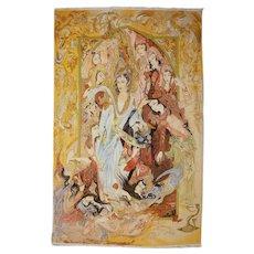 """Josef"" - unique hand knotted carpet, design Mahmound Farshchian"