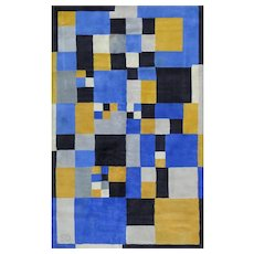 Carpet Designed by Sonia Delaunay