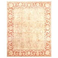 Heriz Natural Silk Rug by Boccara