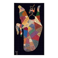 Kandinsky - Powerful Aubusson Tapestry