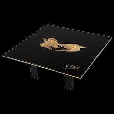 """Georges Braque Coffee Table, """"Zetes et Calais"""""""