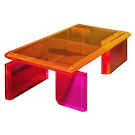 Beautiful Unique Colorful Coffee Table by Charly Bounan
