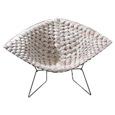 Original Bertoia Diamond Chair Revisited by Clement Brazille