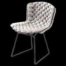 Original Bertoia Side Chair Revisited by Clément Brazille