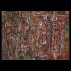 David Lan Bar - Composition - 1956