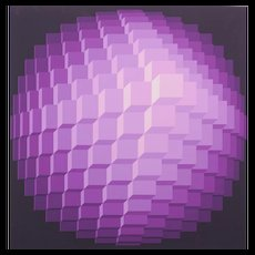 Yvaral (Jean-Pierre Vasarely) - Kinetic Composition