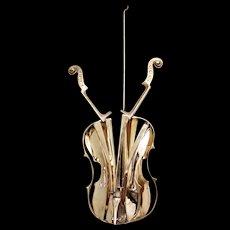 Beautiful Arman's Venitian Violin Sculpture