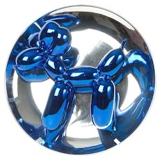 Jeff Koons Blue Balloon Dog Sculpture, 1998-2002